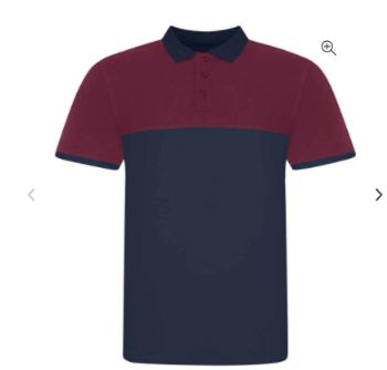 Contrast Embroidered Polo Shirt